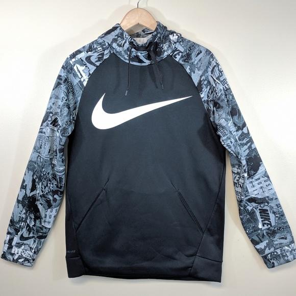 Nike Tops - Nike Dri-Fit NY Photo Print Hoodie